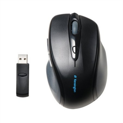 "Myš, bezdrôtová, optická, štandardná veľkosť, USB, KENSINGTON ""ProFit"""