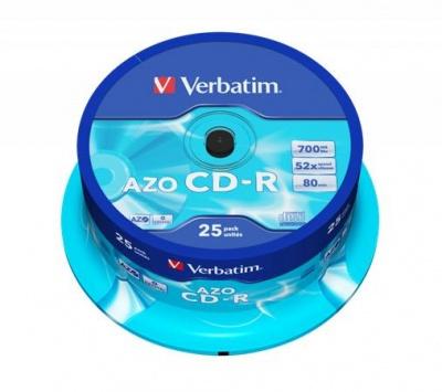 CD-R 700 MB,80min,52x,DataLifePlus-Super AZO,cake box