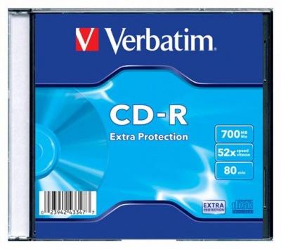 CD-R 700 MB, 80min, 52x, DataLife, tenký obal, 1ks