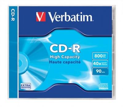 CD-R 800 MB, 90min, 40x, v normálnom obale