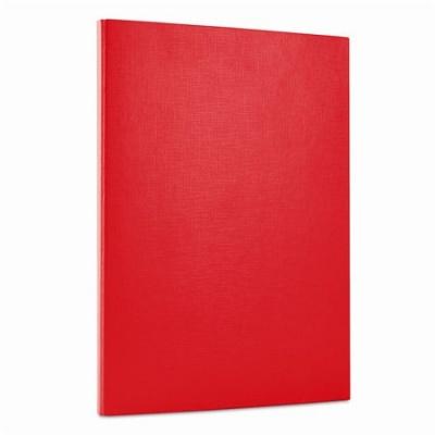 Box na suchý zips, 15 mm, PP/kartón, A4, DONAU, červený