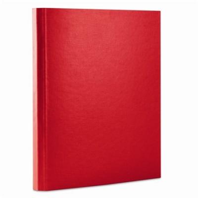 Box na suchý zips, 35 mm, PP/kartón, A4, DONAU, červený