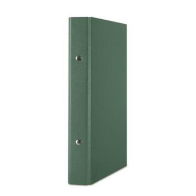 Krúžkový šanón, 2 krúžky, 30 mm, A5, PP/kartón, DONAU, zelený