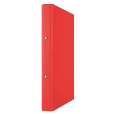 Krúžkový šanón, 2 krúžky, 35 mm, A4, PP/kartón, DONAU, červený