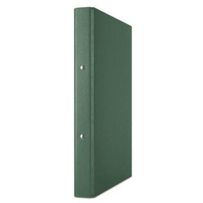 Krúžkový šanón, 2 krúžky, 35 mm, A4, PP/kartón, DONAU, zelený