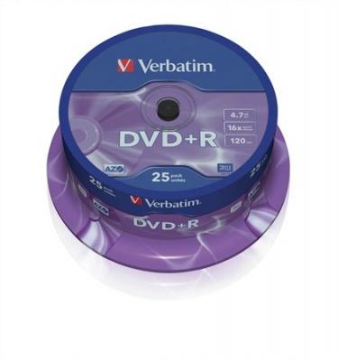 DVD-R 4,7 GB, 16x, cake box (AZO)