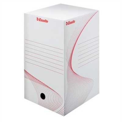 Archívny box biely,  20 cm