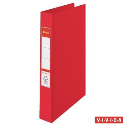 """Krúžkový šanón """"Standard"""", 4 krúžky, 35mm, červený"""