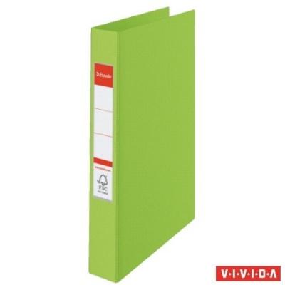"Krúžkový šanón ""Standard"", 4 krúžky, 35mm, zelený"