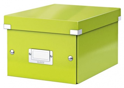 """Archivačná krabica """"CLICK&STORE"""", A5, lakový lesk, zelená"""