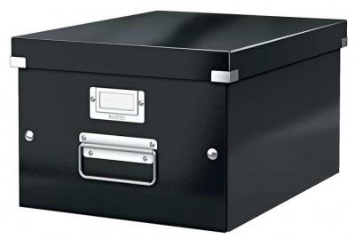 """Archivačná krabica """"CLICK&STORE"""", A4, čierna"""