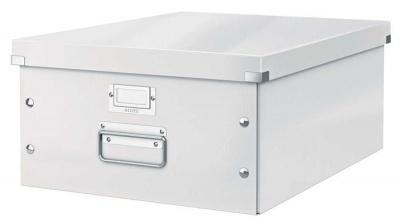 """Archivačná krabica, A3, lakový lesk, LEITZ """"Click&Store"""", biela"""