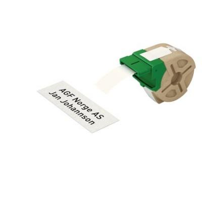 """Etikety, samolepiace papierové pásky, 32 mm x 22 m,  LEITZ """"Icon"""" biele"""