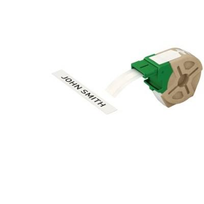"""Etikety, samolepiace papierové pásky, 12 mm x 22 m,  LEITZ """"Icon"""" biele"""