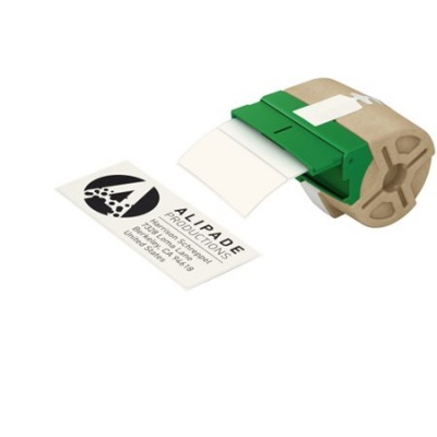 """Etikety, papierové, samolepiace, 36x88 mm, 600 ks, LEITZ """"Icon"""", biele"""