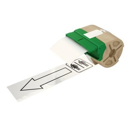 """Etikety, plastové pásky, 88 mm x 10 m, LEITZ """"Icon"""", biele"""