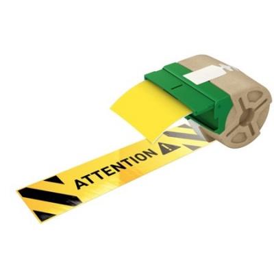 "Etikety, plastové pásky, 88 mm x 10 m, LEITZ ""Icon"", žlté"