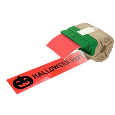 "Etikety, plastové pásky, 88 mm x 10 m, LEITZ ""Icon"", červené"