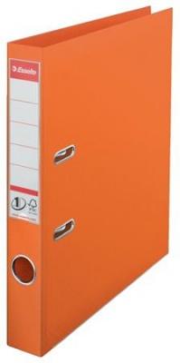 """Pákový šanón, 50 mm, A4, PP/PP, s ochranným spodným kovaním, ESSELTE """"Standard"""", oranžový"""