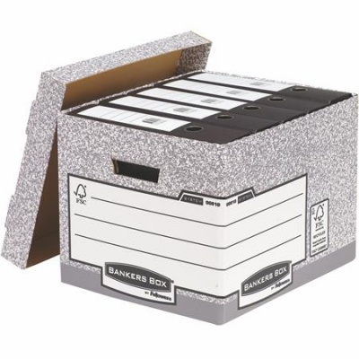"""Archívny kontajner, kartónový, štandard, """"BANKERS BOX® SYSTEM by FELLOWES®"""""""