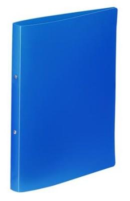 """Krúžkový šanón, 2 krúžky, 20 mm, A4, PP, VIQUEL """"Standard"""", modrý"""