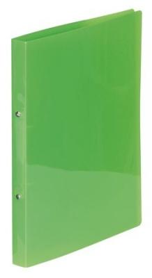 """Krúžkový šanón, 2 krúžky, 20 mm, A4, PP, VIQUEL """"PropyGlass"""" zelený"""