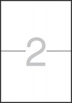 Etikety, 105x148 mm, na liste A5, APLI, 30 etikiet/bal