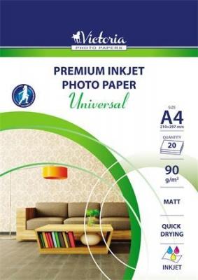 """Fotopapier """"Universal"""", matný, A4, 90 g"""