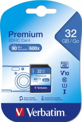 Pamäťová karta SecureDigital, 32 GB (SDHC) Class 10