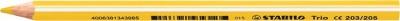 """Farebná ceruzka, trojuholníkový tvar, hrubá, STABILO """"Trio"""", červená"""